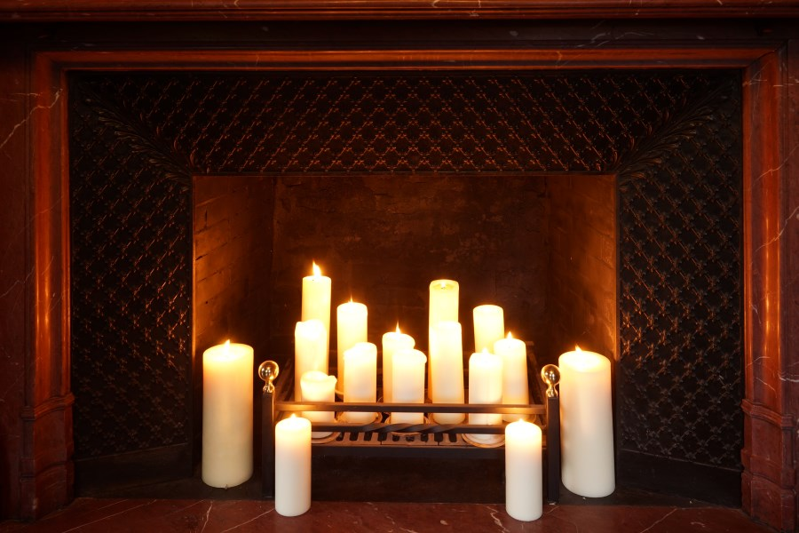 Fireplace, Grey Sitting Room