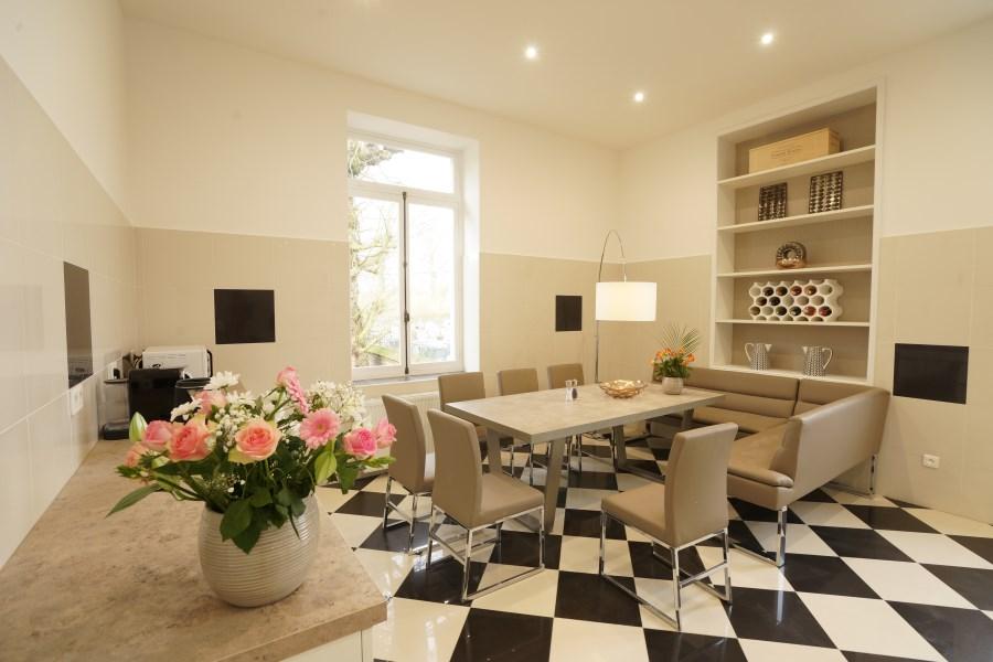 Kitchen, Chateau D'Hallines