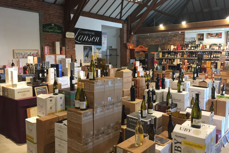 Le Chais wine shop, Longuenesse