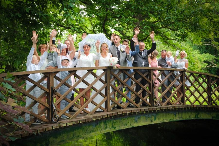 Wedding party at venue Big Chateau, Hallines, Pas-de-Calais, Northern France