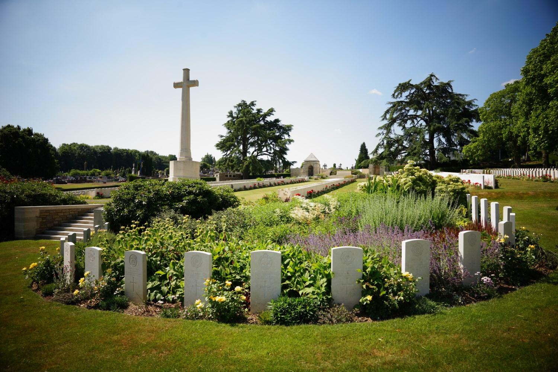 Longuenesse cemetery, near Saint-Omer, Pas-de-Calais