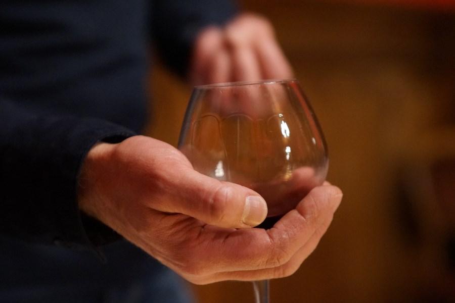 Winetasting at Chateau d'Hallines